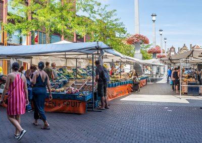 Markt op Statenplein