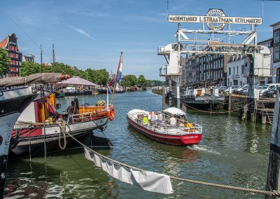 Dordtevaar in Wolwevershaven