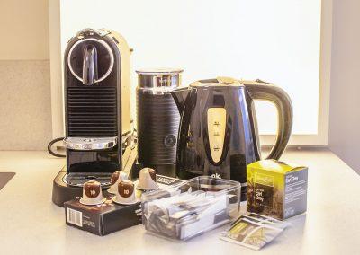 B&B De 4 Leeuwen Dordrecht koffie en thee