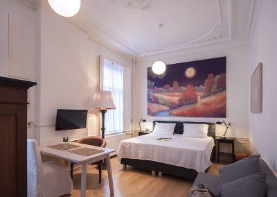 Dordrecht Nieuwe Haven B&B De 4 Leeuwen kamer 2
