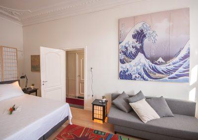Dordrecht Nieuwe Haven B&B De 4 Leeuwen kamer 1